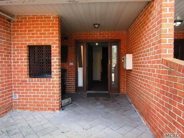 Renovated Three Bedroom, 2 Full Bath Condo with GARAGE, Located In A Quiet Section Of House Beautiful Condos. This CORNER Location Is Spacious,  Very Sunny And Immaculate With Renovated Kitchen And Baths, Private Laundry. Located In Desirable School District #26. Close To Ground Transportation, Major Highways, Express Bus To Manhattan, near Shopping And Excellent Restaurants!!!