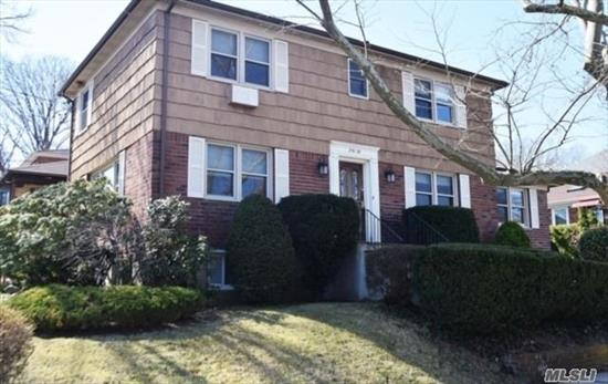 1 Family Brick/Frame Center Hall Colonial In Weeks Woodlands On Quiet Block, 4 Bedrooms, 2.5 Baths, New Kitchen, Lr, Fdr, Eik Plus Huge Family Room And Walk- In Basemen W/ Garage Plus Patio. Building Size 24X46