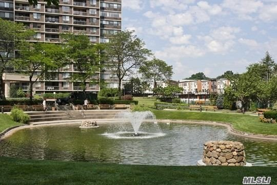 Largest 2 bedroom/2 bath with closets galore/2 walk-in (8x8); Formal Dining Room; Large Eat-In Kitchen; Convertible 3 Bedroom; Open Water View.Year round health/fitness center; shopping arcade; restaurant on premises; deli; beauty salon; dry cleaners; tennis courts; heated/domed pool plus so much more a must see.
