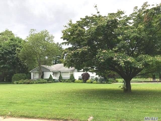 Fantastic location! spacious and bright multi-level home with 3 new bathrooms, renovated eat-in-kitchen/new appliances, finished basement, 2 fireplaces, 2 car garage, on over one acre. IG pool could be opened at Tenant's own responsibility and at their own expense.