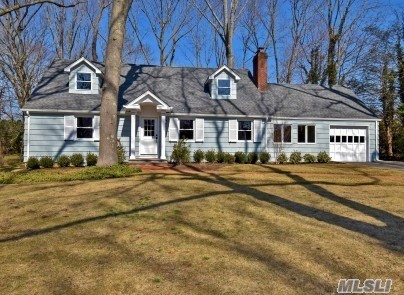 Charming Cape Renovated By Renown Builders. Situated On A Beautiful Cul-de-Sac Backing The Golf Course. New Dormers, New CAC, Updated Heating System, New Kitchen, New Upstairs Bath, New Mouldings, Refinished Floors, Freshly Painted Inside & Out. Low Taxes. COLD SPRING HARBOR SCHOOLS!