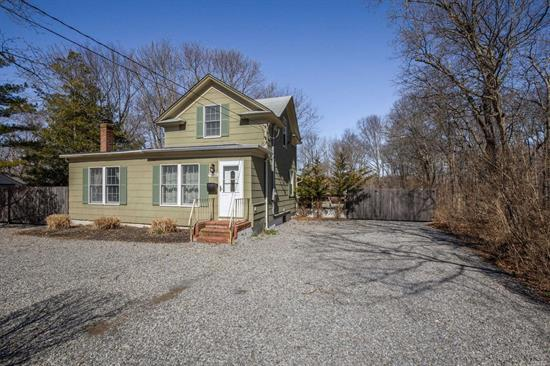 Here is your opportunity to have a home in Greenport. This home has been redone offers 3 bedrooms, full bath, hardwood floors, new electric. List goes on and on. Only one mile to the Village, where all the action is. Go fishing, enjoy the winery's Added bonus screened in porch to sit out at night. Low taxes better then renting a home for the summer. Call today to view.