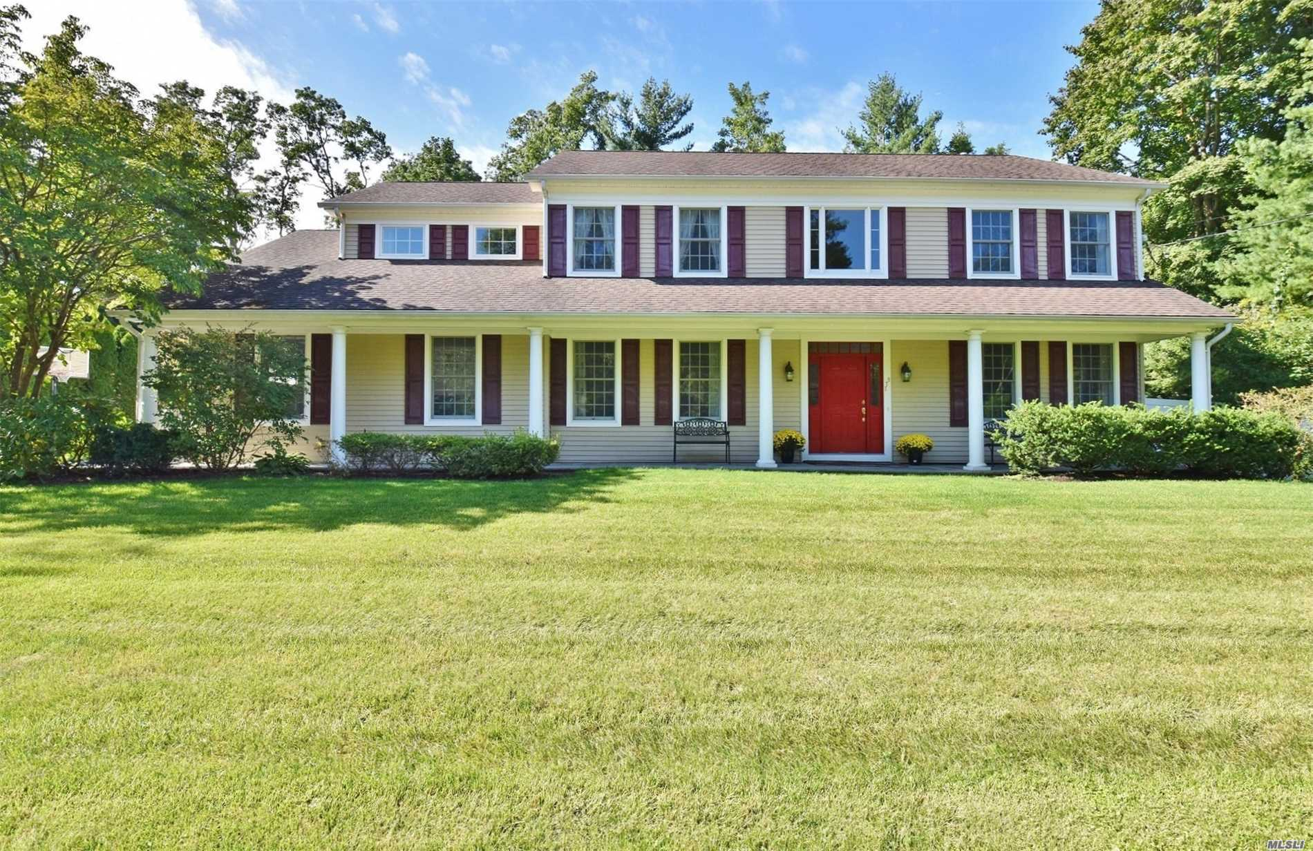 Immaculate Center Hall Colonial With Impressive Two Story Entry Foyer, Incredible Millwork Includes Raised Panel And Crown Moldings And Wainscoting. Interior French Doors With Custom Transom Windows. Hardwood Floors Throughout. Cherry Kitchen With Stainless/Granite And Large Center Island. Master Suite With 2 Wic's, Master Bath With Radiant Heated Floors. Finished Basement; Professionally Landscaped Backyard With Heated, Saltwater In-Ground Pool, Cambridge Paver Patio. Whole House Generator.