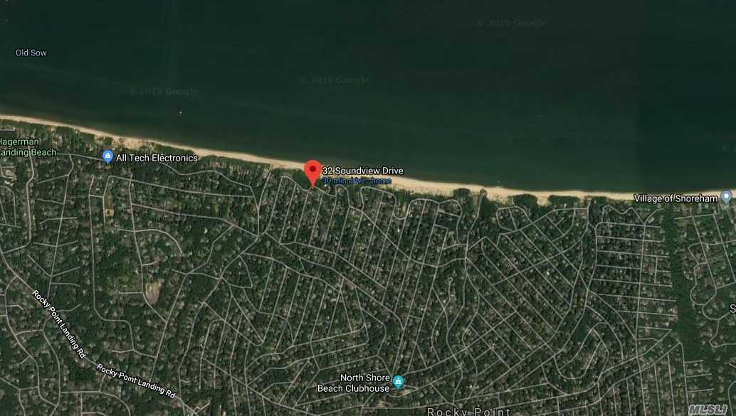 Build your dream home just shy 1/4 acre with partial water views of long Island Sound. beach rights