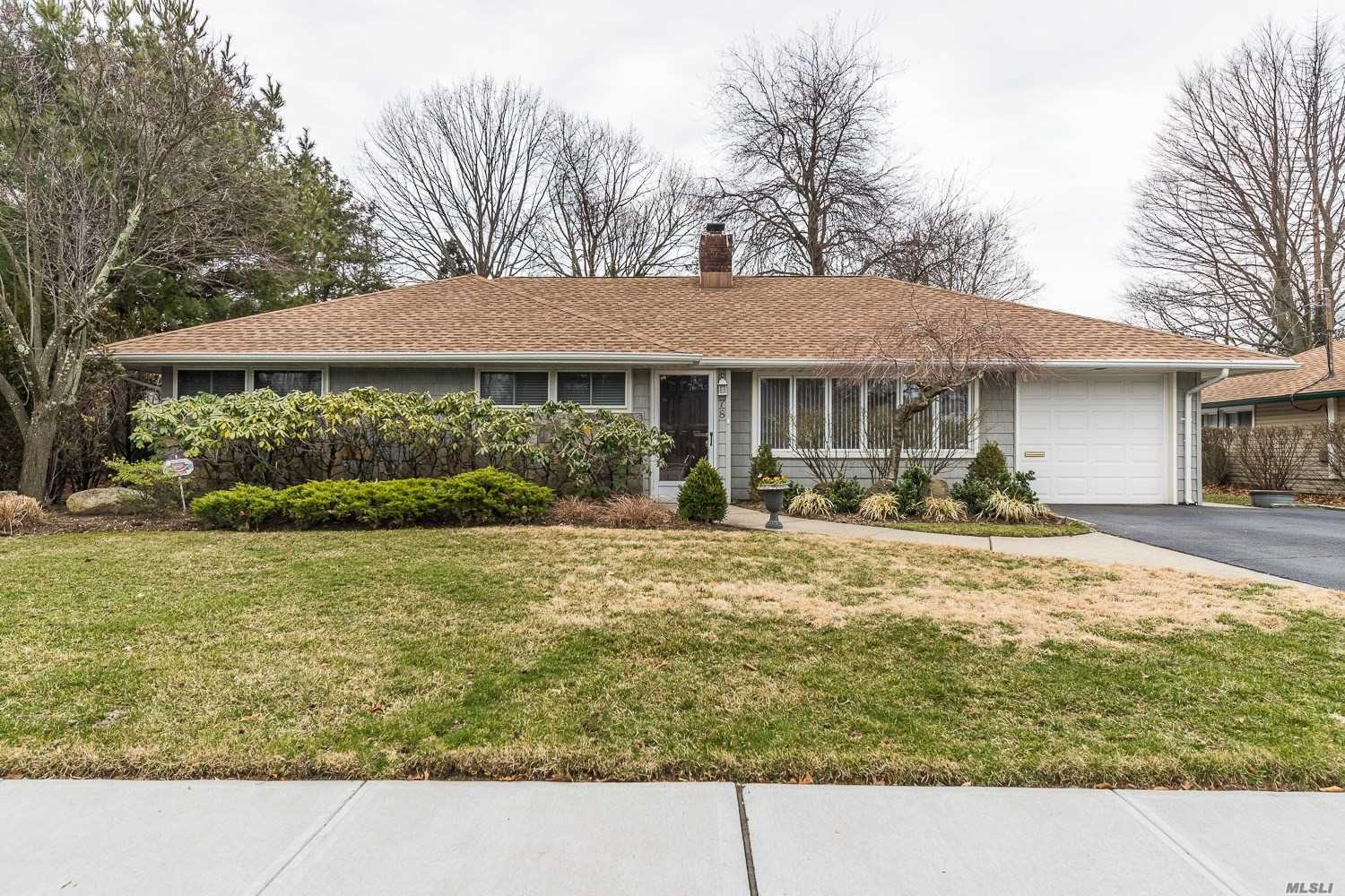 Beautifully appointed ranch with perfect floorplan. Master suite has it's own bath plus 3 closets. Living & Dining Rooms open to the family room which opens to the granite kitchen. Fenced well manicured yard also has a shed and TimberTrex deck.