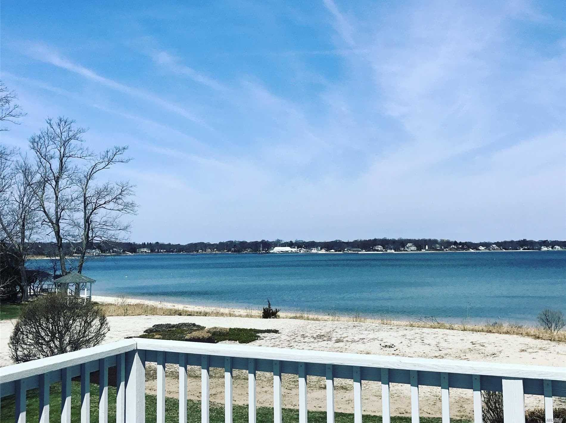 Its all about Location! Stunning Views from this Southold Bayfront Ranch Home with Walk Out Lower Level. Rare Opportunity To Own in Coveted Southold Bayview Neighborhood Near Goose Creek. Open Floor Plan. Gorgeous View from Living Room, Dining Room, and Master Bedroom As well as Downstairs Living Area. Two Level Deck for Entertaining, Lawn and Sandy Beach. Not in Flood Zone. Become Part of this North Fork Community For Generations To Come!