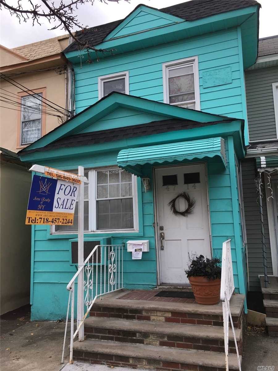 Legal 2 Family House, Close to Transportation, Recently Renovated, Parking, Garage, 4 blocks to the Train, Great investment income, Can be delivered Vacant.