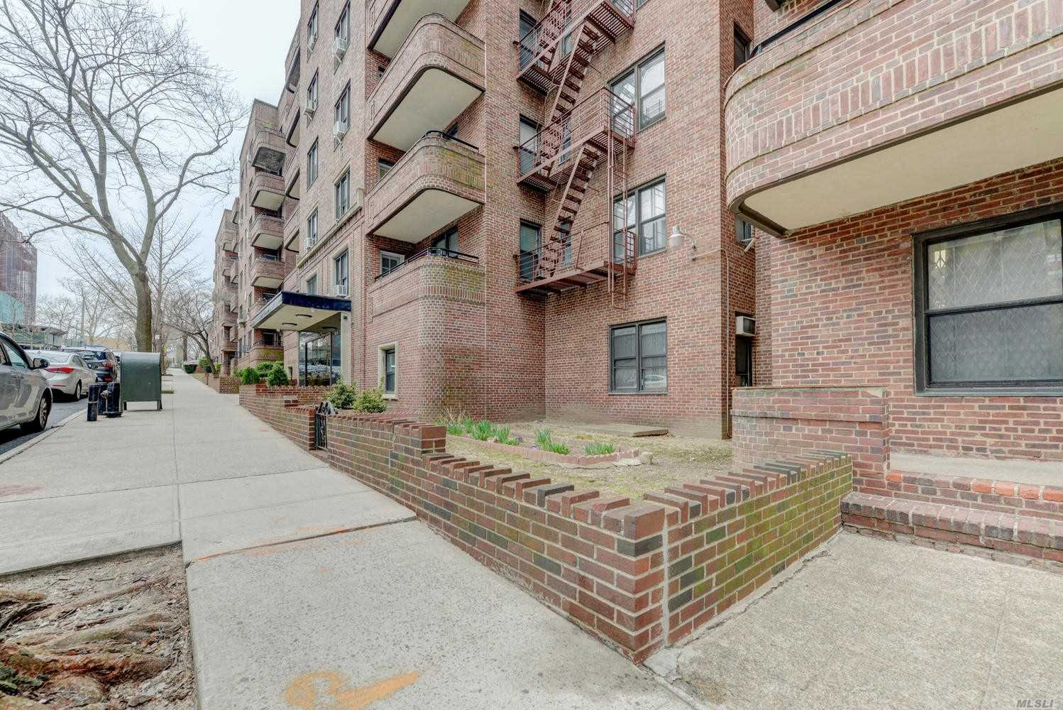 Well-Kept Bright 2 Bedroom/Jr4 With Terrace At Hampton House. Great Layout. Foyer Is Large Enough For Full Dining Table, Large Living Room With Terrace, Open Kitchen With Plenty Of Counter And Cabinet Space. A Hallway Separates The Main Bedroom And The 2nd Bedroom Fits A Full Sized Bed With 2 Exposures. Building Amenities Include 18 Hour Doorman, Outdoor Common Areas Complete With A Private Dog Run, And Laundry Room. Indoor Valet Parking $140 Per Month. Near LIRR, E & F Train. Sublets Allowed.