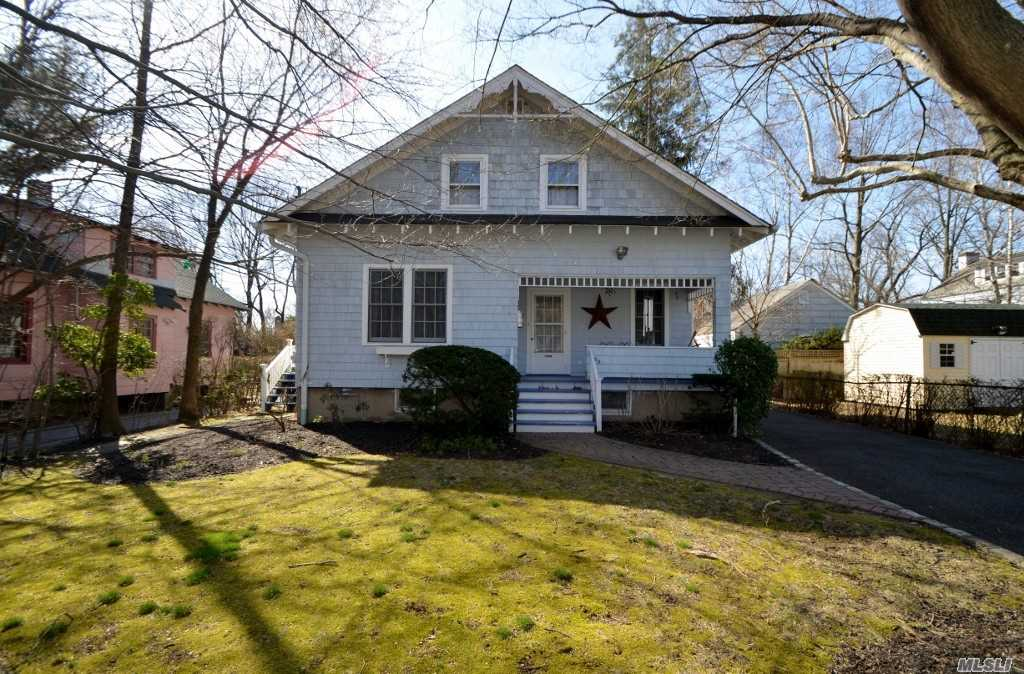 Village Charmer! Front Porch Leads to Lr, Fdr, Kitchen, Bedroom & Full Bath. 2nd Floor; 3 Bedrooms & Full Bath. Full Unfinished Basement w/Washer/Dryer & Utilities. Great Yard!