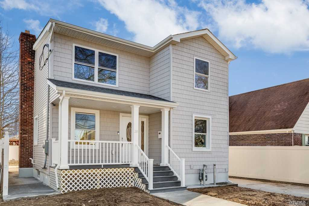 Amazing 1 Family Home In The Heart Of Valley Stream, Nassau. This Beautiful Home Offers Sizable 4 Bdrs, 3 Full Baths, Walk-In Closets, Cozy Living Area Leading Into A Backyard Deck For Entertainment With Family And Friends, Modern Kitchen With Stainless Steel Appliances, Granite Counter Tops, Mosaic Backsplash, Fully Finished Basement, Detached Garage, Private Driveway, Sizable Backyard, Latest Cooling And Heating Technology, Completely New Plumbing, Electric, Roofing, Siding And Much More!