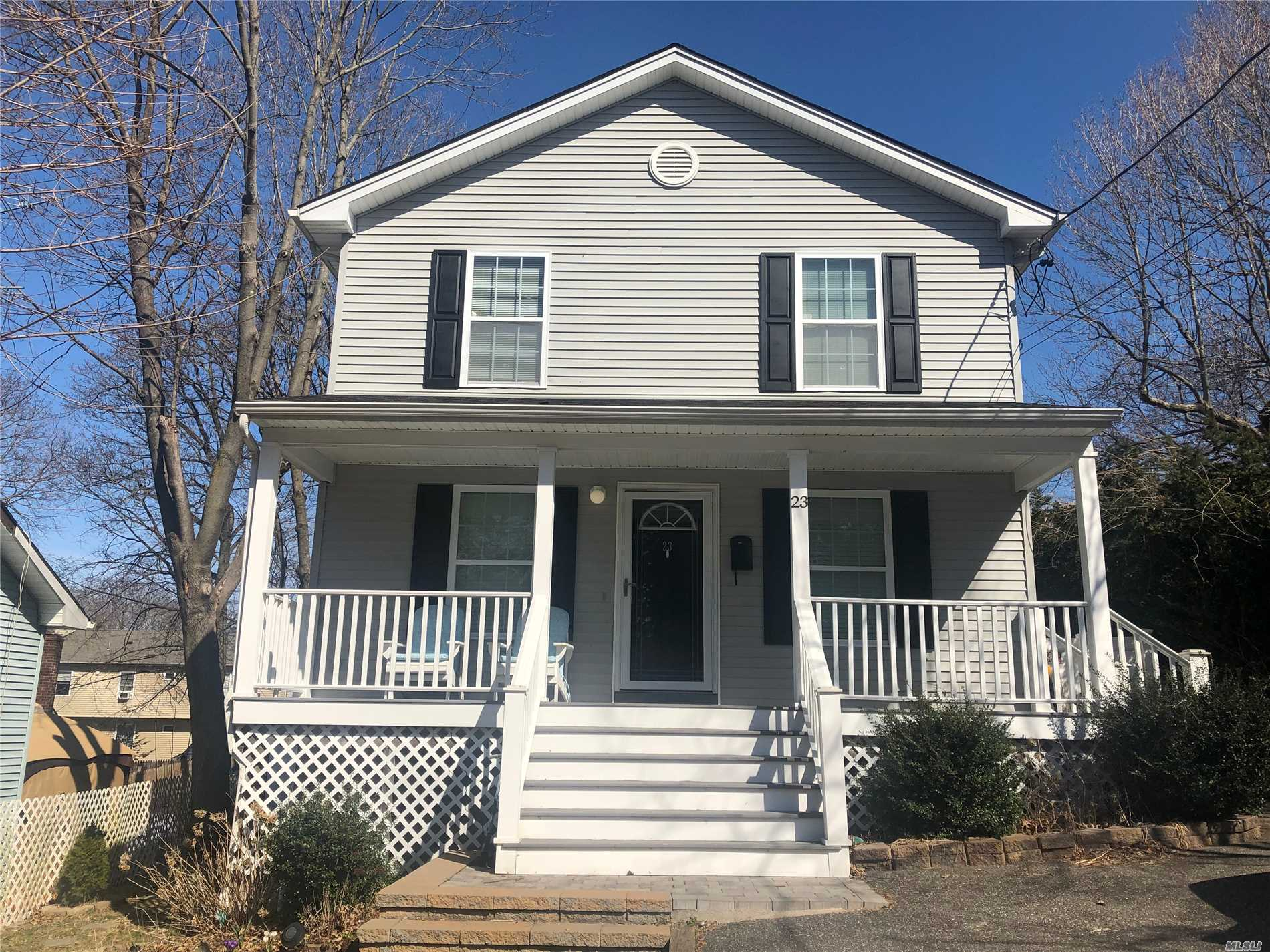 Great opportunity to own a 2010 built home minutes from The LIRR and Vibrant Huntington Village. This home offers 2 bedrooms on the first floor and a full bath. The second floor has 4 bedrooms and a full bath. The basement could be finished and offers 10' ceilings. Enjoy an open floor plan, gas heat and cooking, vinyl siding, updated windows, and an open floor plan.
