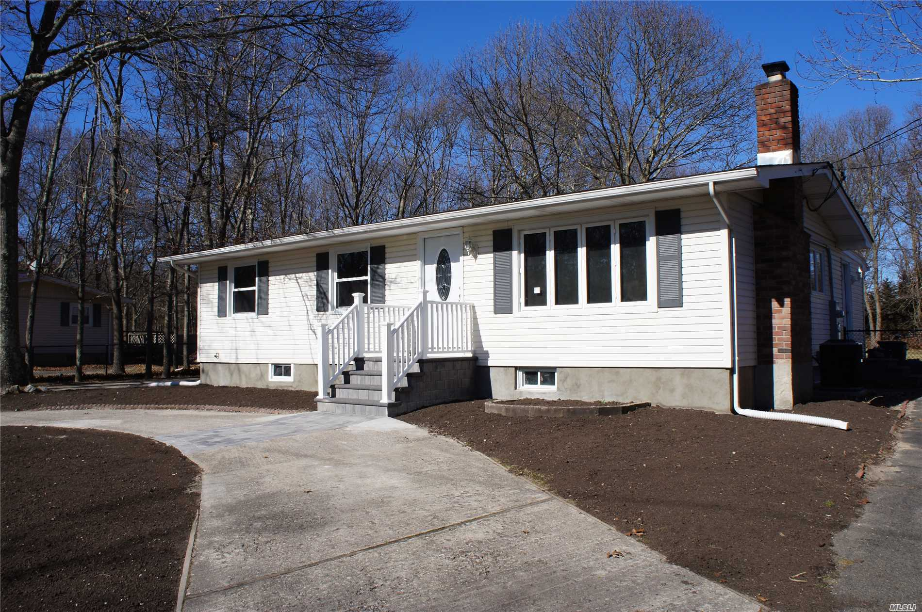 This fully remodeled home is move-in ready! Located on a half acre, fully fenced in with brand new roofing. Stainless steel appliances, wood flooring, and a central heating and cooling system are a few of the assets of this three bedroom two bathroom home. Must see!
