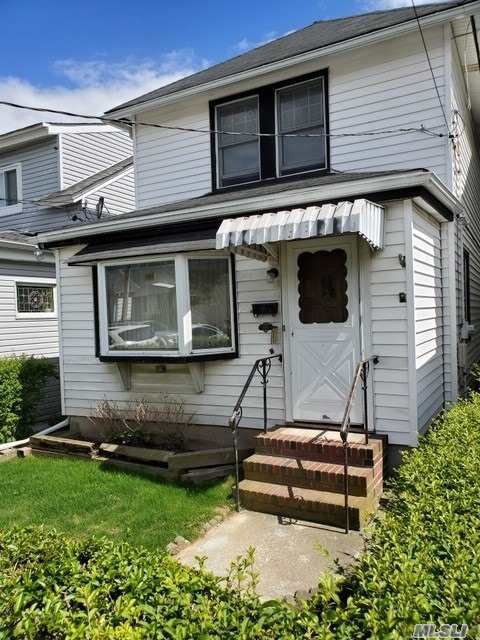 Why pay rent when you can own your own home instead? Great starter house on quiet street. Near LIRR, park & shopping. Low low taxes.
