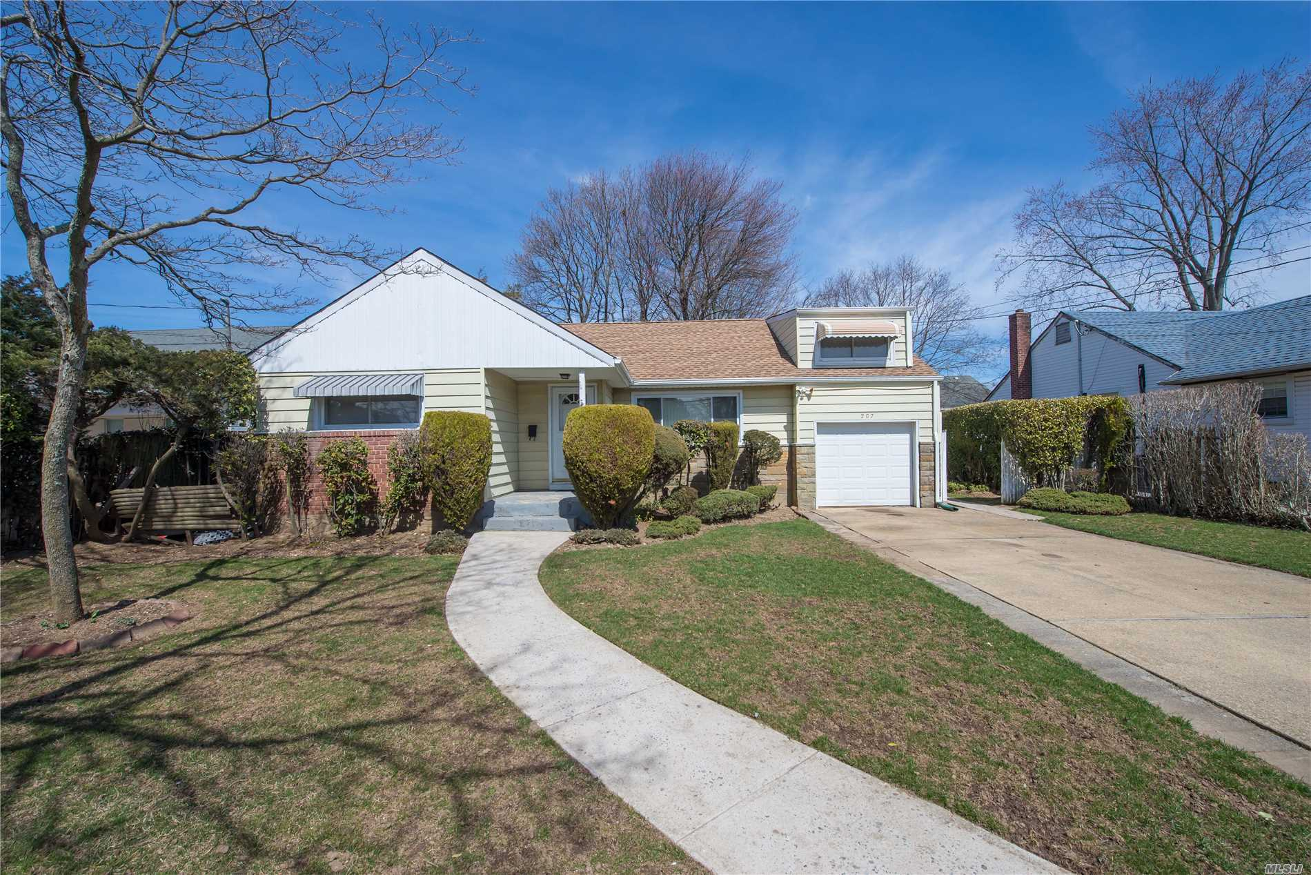 Unique Expanded Ranch with Center Hall and Tons of Potential! Great lay-out with large Family Room with Sliders to Manicured Yard! Huge walk-in Attic for all of your storage needs with two Compartments! Updated Bath, Brand New Roof, Gas Heating! Great Value for the Money! Massapequa Schools! ***PROPERTY IS BEING SOLD AS-IS***Taxes Under $10K! Great Investment!