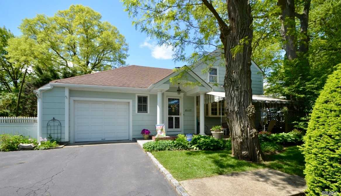 Location! Location! Location! Beautiful Colonial! Ef, Lr/Fpl, Fdr, Eik with Granite Counters & Stainless Steel Appliances Open to Great Room w/French Doors to Side Yard & Lovely Stained Glass Window, Full Bath. 2nd Floor; 3 Bedrooms, Full Bath. Full Unfinished Basement. In Ground Sprinklers & Security System. Close to Shops & Train. A Must See!!