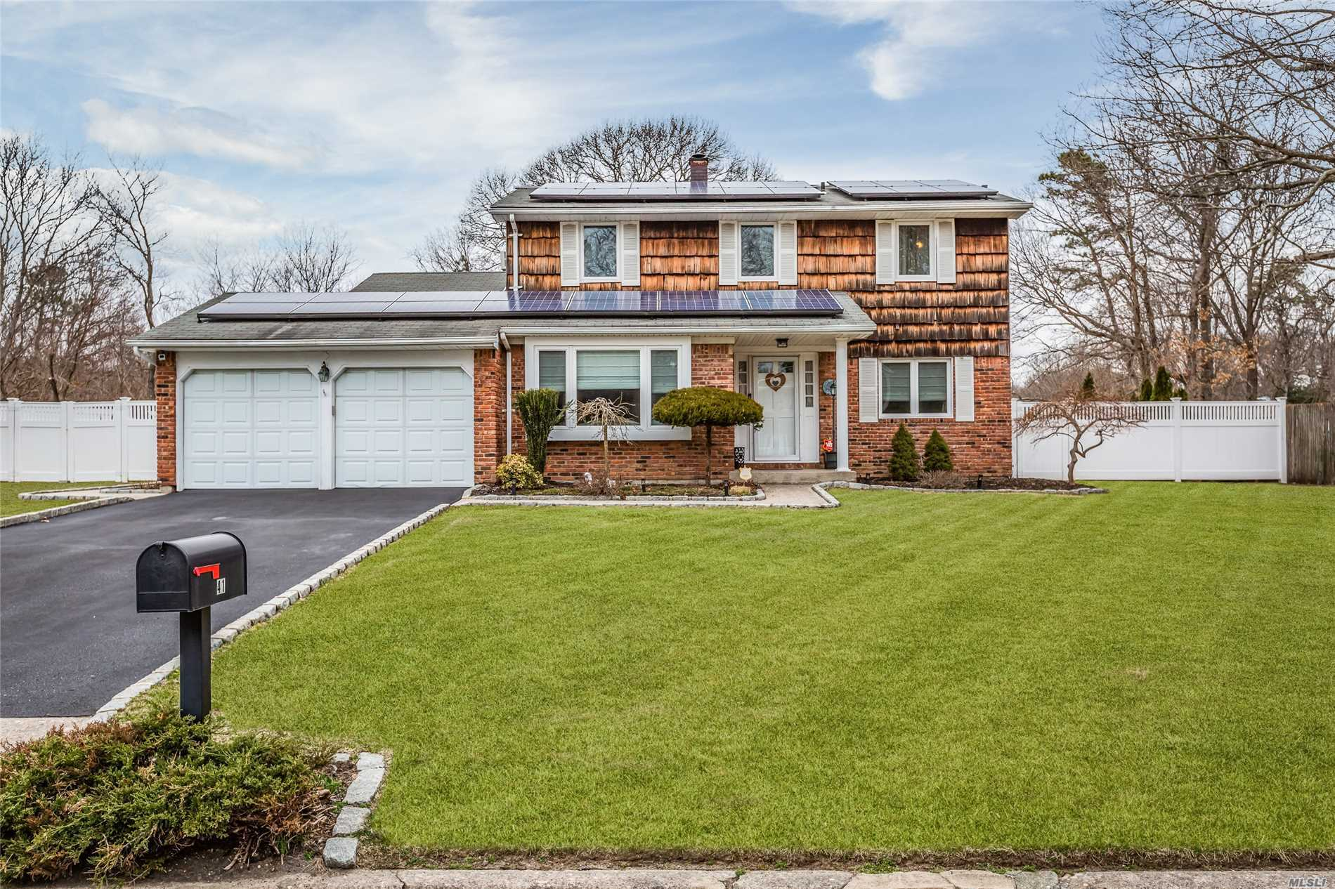 Beautiful Colonial Featuring 4 Bedrooms, 2.5 Baths, Formal Dining Room, Living Room, Warm and Inviting Eat in Kitchen, Large Family Room with sliders, Part Basement & 2 Car Garage Enjoy Summer This Year In Your Spacious Yard Which Includes A Fabulous In-Ground Pool.