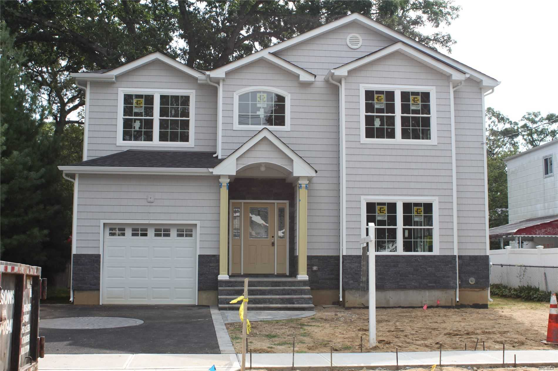 New Construction To Be Built In 2019. 4 Bedrooms, 2 1/2 Bath Custom Colonial, Pella Windows, Oak Floors, Crown Molding , Central Vac, Full 8' Basement... Still Time To Pick Your Finishes.