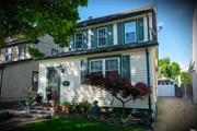 Lovely Legal II Family in SD#20 on Quiet Street Eat in Kitchen w/skylight n sliding glass door to cozy backyard n deck.  large master bedroom finished walk up attic, newly finished basement w/high ceiling washer/dryer hook up on both floors, 2 separate gas heating system 1/2 mile to shopping, 9 blocks to the N1 bus take u to Gibson Train Station and 2 blocks away from the main train station on Sunrise highway.