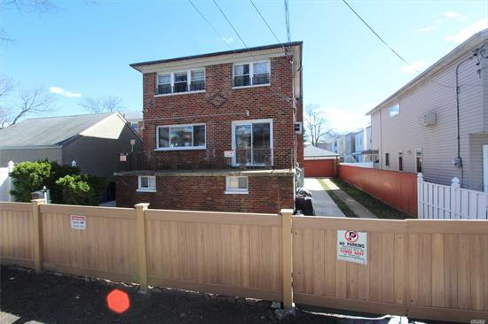 Detached Brick Two Family Home. 50 X 100 Lot Size. 28 X 51 Building Size (2, 856 Sq.Ft.) Three Bedroom - Two Bath Over Three Bedroom - Two Bath And A Finished Basement With Bath. Two Heating Systems. Three Hot Water Tanks. Built In 1964. No Tenants.