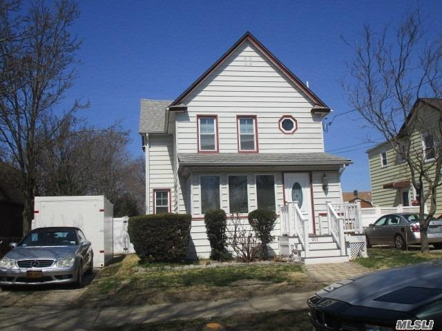 Great colonial in the center of Baldwin! Large lot and low taxes make this a perfect starter. LED lighting throughout and beautiful new designer main bath. Must See! New Photos Added! Close to all and walking distance to Stop & shop! Your home awaits under the rainbow! See last photo!