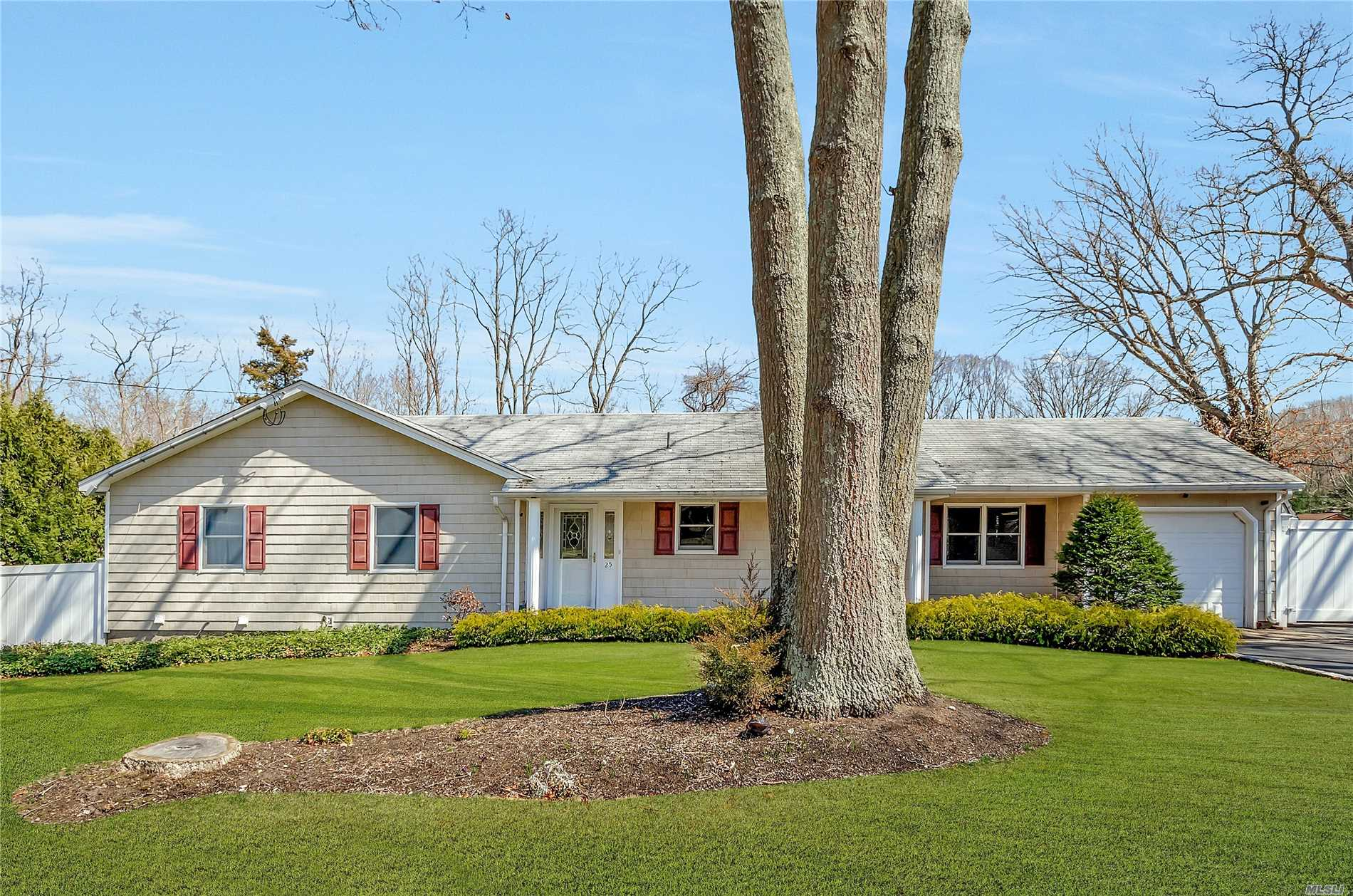 Wide Line Ranch In The Tides Does Not Disappoint! New Carpet, Newer Roof, Anderson's, Wooden Blinds, Pellet Stove, Newer Burner/Oil Tank/Hot Water Heater, Belgium Block, Beach Rights & More! Lots Of Backyard Privacy Great For Entertaining!