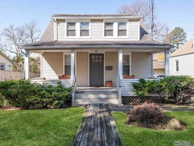 Perfect Starter Home in Waterfront Community with Award Winning Schools.Renovated Charmer with New Kitchen and Baths, Updated Windows and Siding. Granite Kitchen Counters with New Appliances. Oil Heat with Gas Cooking. Deck Overlooks Backyard plus Rocking Chair Front Porch. Perfect!