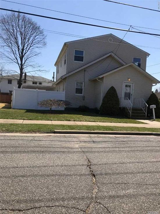 Clean 2nd floor apartment with 4 rooms. Updated, large rooms include Living room/dining room, eat in kitchen, 2 bedrooms and a full bath. Full attic! Close to transportation.