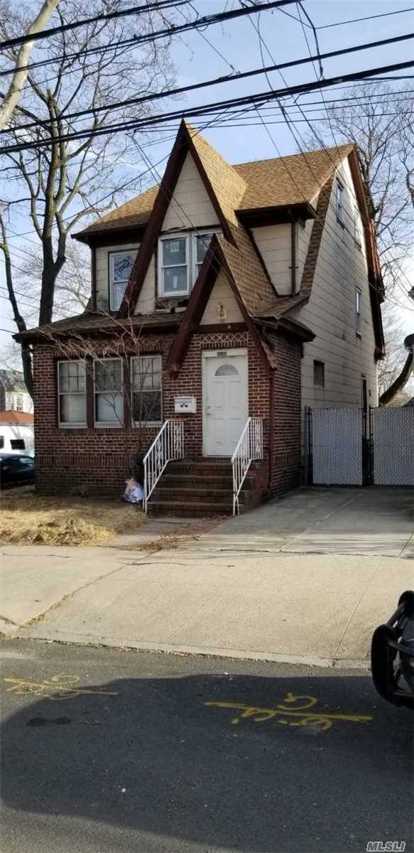 Calling All Investors! Cash Only. Property Needs Total Renovations. Property is Sold As-Is Condition. Roof Is About 5 Years Old And Most Windows Were Replaced With Anderson. Property Is Zoned For 2 Family And Can Be Converted W/Proper Permit.
