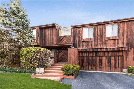 Contemporary most beautiful bright 3 Bedroom and 3.5 Baths. LR with fireplace, best wood floor, master suite, heated floor, sauna bath. Open Eik, formal DR, family room, a must see!