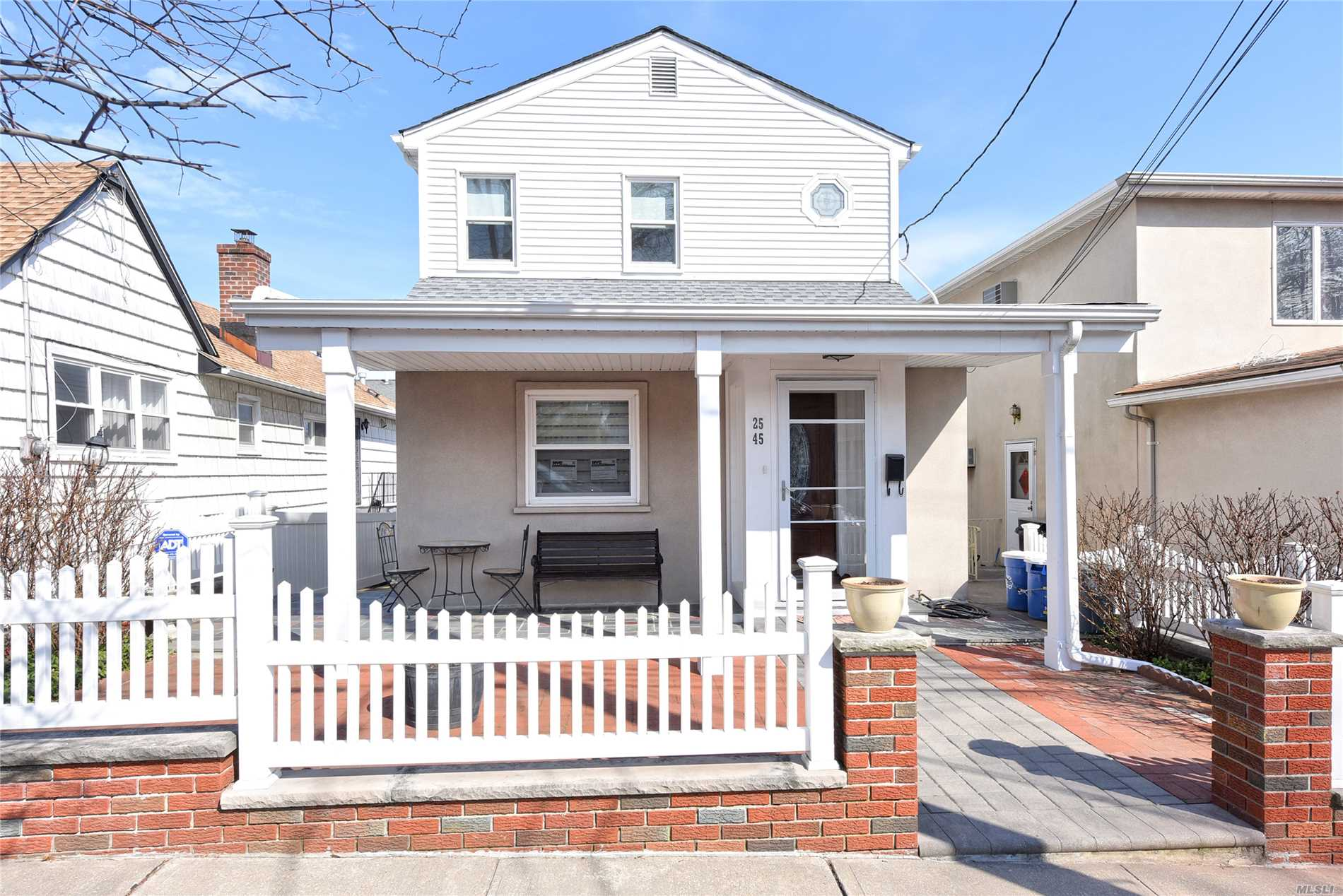 Spring Brings This Wondrous Colonial Home Full Of Charm With An Impressive Layout. 3 Bedrooms With 2 Full Baths, Living, Dining, Eat In Kitchen (Gas Cooking), Sunny Den, Huge Finished Basement With OSE And Other Extras.