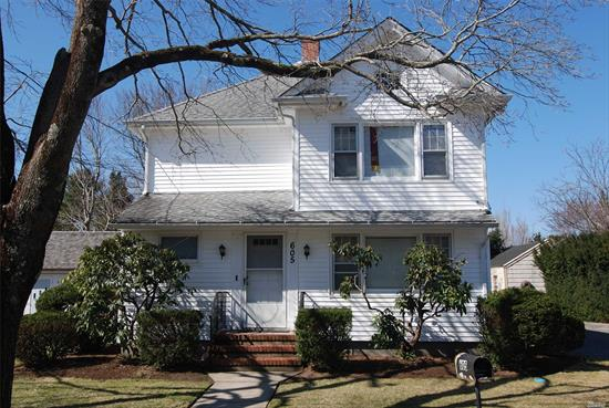 Legal 2 family with Hamlet Business Zoning. New Kitchen in first floor apartment. Hard wood floors throughout home. Large storage Shed in back. Well maintained home, new heating system. Currently rented month-to-month.  Upside potential. Great rental income. walk to town, shopping, transportation, restaurants, and other services. Southold Hamlet Parks District.