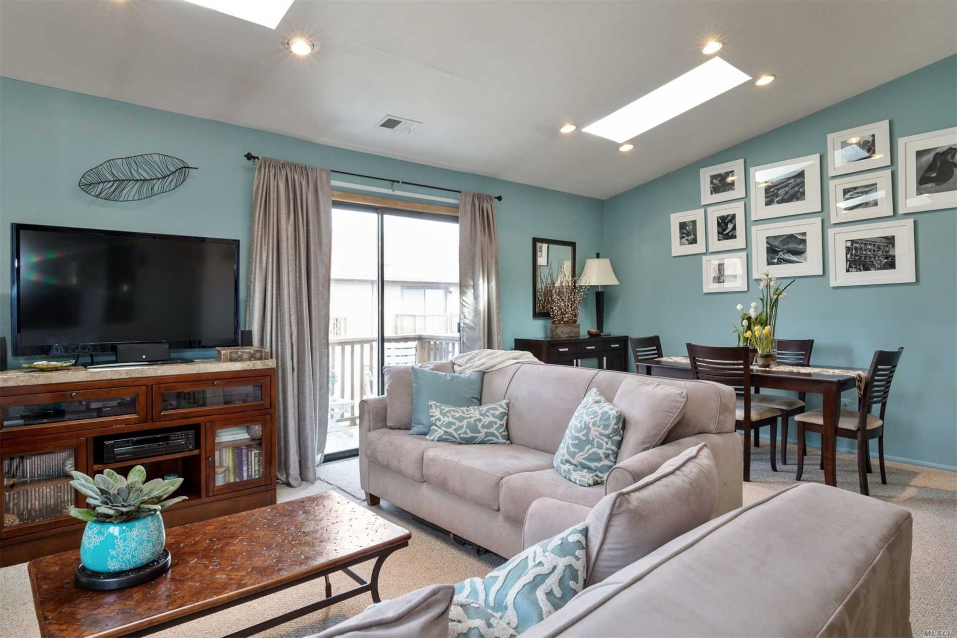Community, Comfort, Convenience! Welcome to Luxury Living In This Pet Friendly, Bright, Updated Immaculate Coop! Chef Kitchen W/Granite Countertops, Custom Cabinetry, SS Appl, Washer/Dryer, Open Floor Plan, Large BR With Ensuite & Walk In Closet, Terrace, Storage Loft, Closets Galore! Gated Community W/Pools, New Gym, Tennis, Basketball, Social Room, etc! Near LIRR, Shops, Restaurants, etc! Ample Parking! Do Not Miss This Extraordinary Opportunity! This Is An Immaculate Home Ready To Move Into!