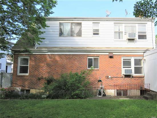Large Detached Brick 2 Family With Lots Of Income Potential On A Large 6, 000 Sq, Ft Lot Size! 1st floor is fully updated with full finished basement with two separate entrances. Great Bayside Location And Close To All. School District 26. Must See To Appreciate This Beautiful Home!