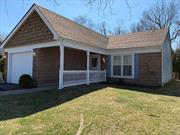 2 bedroom 2 full bath Walden model with 1 car garage. covered patio, paver patio off rear entrance.