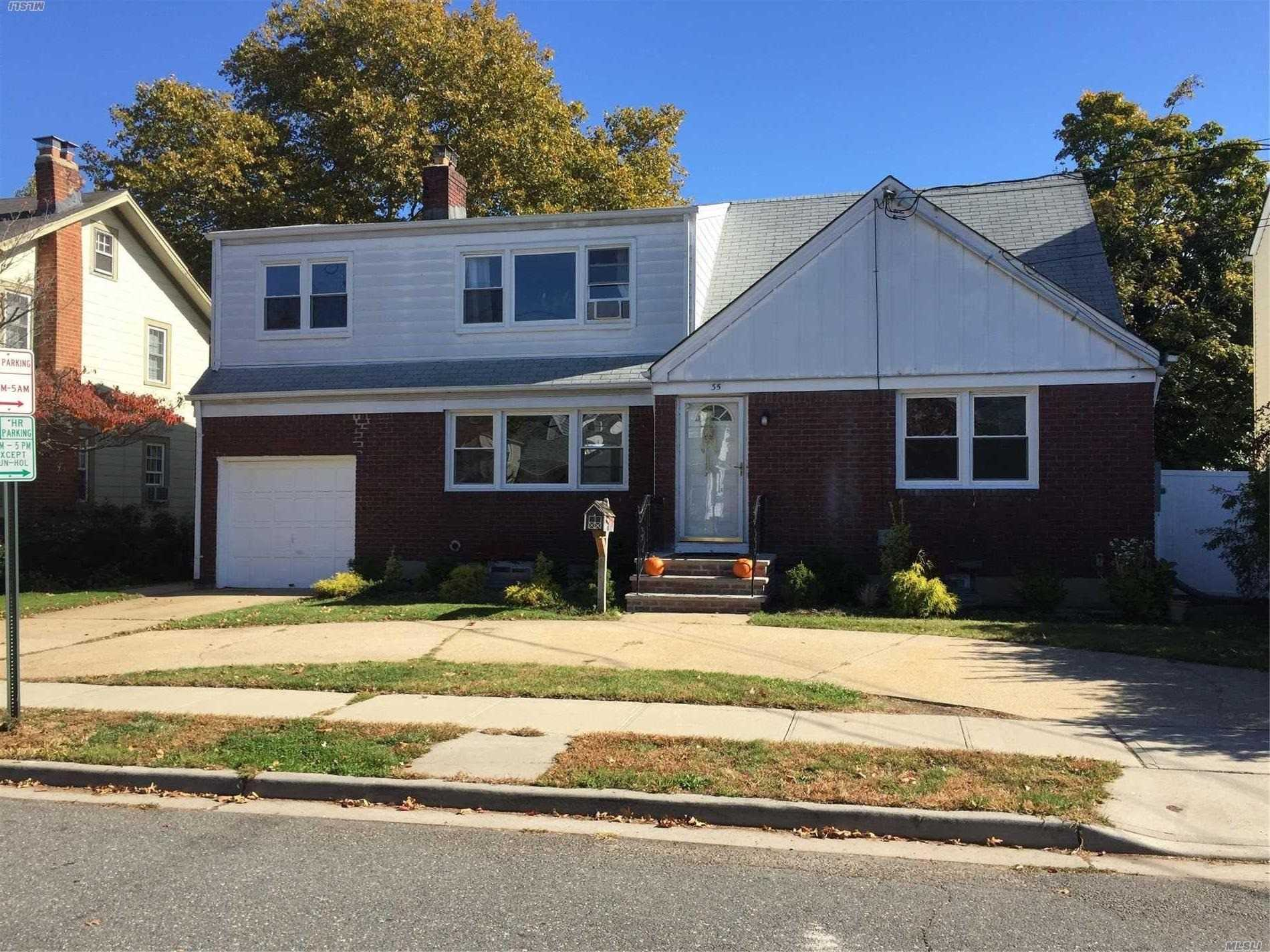 2 bedroom, 1 bath, Living room, Dining area, 1 bath and EIK. Access to basement storage room, washer and dryer. One parking space on driveway.