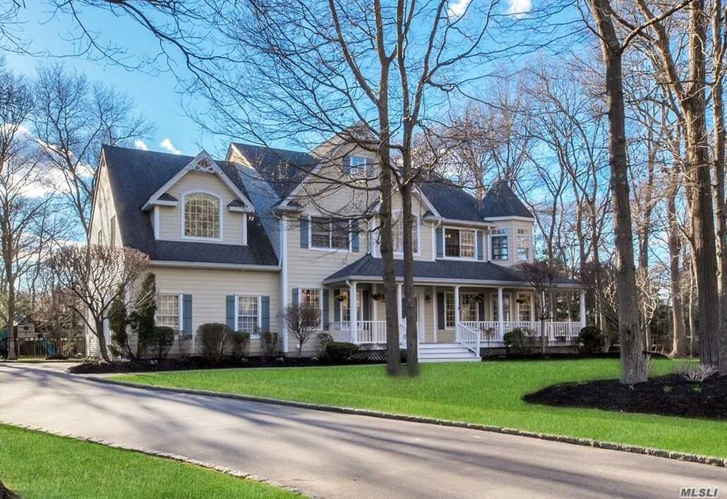 Beautifully designed Custom Built Victorian Colonial features Exquisite craftsmanship throughout tucked away on private, shy 1 Acre in Sayville School District. Soaring Entry opens to 4500 Sq Ft of living space with High Ceilings, Gourmet Chefs kitchen,  Large family room offers custom built-ins and FPL. Huge Master Bedroom Ensuite with cathedral ceilings, 3 WIC, large bath. 4 Large BR, whole house generator, country club yard w/custom heated IGP and so much more.