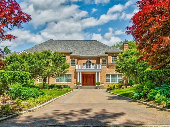 Stunning Custom 8, 000 Sq Ft Center Hall Colonial, State Of The Art Amenities, Custom Built in 2006, Designed by Architect Gary Gallagher, The Home Boasts 16 Generously Proportioned Rooms With Exceptional Custom Mill Work, High Tray Ceilings, Radiant Heated Floors And Baths, Hugh Chef's Gourmet Eat In Kitchen All Viking Appliances, Bonus Room,  Great Home For Entertaining, Expansive Brick Patio With BBQ, Great For Al Fresco Dining, 2 Private Flat Acres A Hamptons Alternative. 30 Min to Manhattan.
