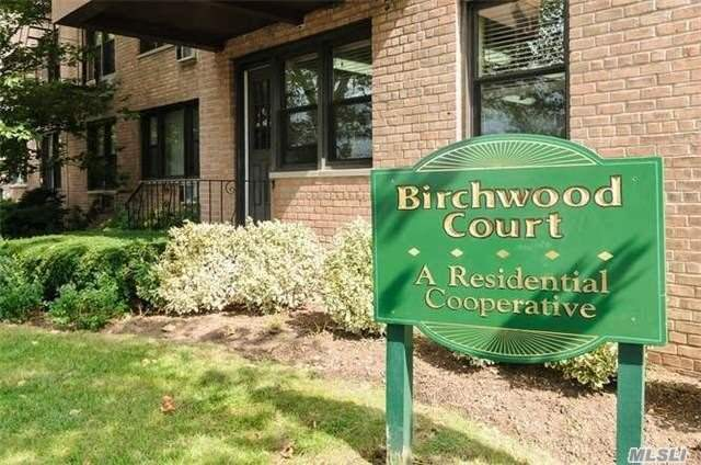 1BR apartment at the Birchwood in Mineola for sale. Includes Living room, dining room, kitchen, bedroom & full bath. Amenities at the complex include security, playground & new laundry facility. Centrally located and minutes to the train. Priced to sell. Call for any information.