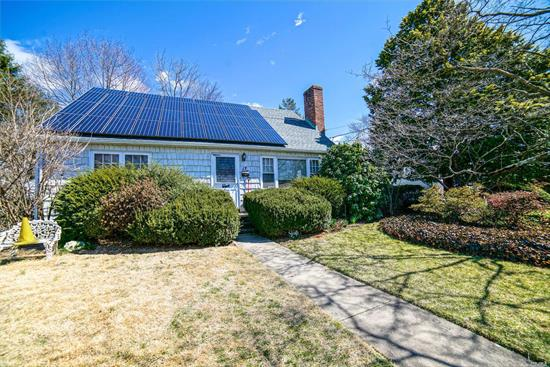 4 br, 3 full bath Expanded Cape. House is being sold as is condition. Needs TLC. Located in the Terrace, Mother Daughter style with solar panels (no contract) rapid car charger, finished basement with additional room, office. Seller is motivated!