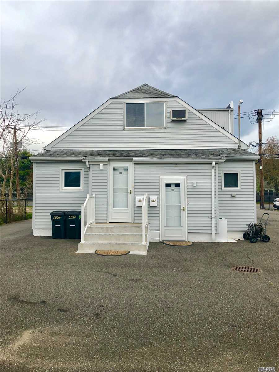 A Brand New Duplex With A New Eat in Kitchen, Custom White Cabinets, Quartz Countertops, New appliances,  Large One Bedroom with full Wall Closets, Full Bathroom, New Carpet Throughout Bedroom and Living/Den Area.