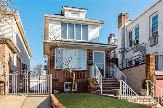 This single family, fully detached home is in pristine condition and just waiting for new owners. Lovingly cared for over the years, the house features beautiful hardwood floors, stained glass windows, large bedrooms, separate living room and dining room and a private garage. Stainless steel appliances, washer/dryer, full finished basement.