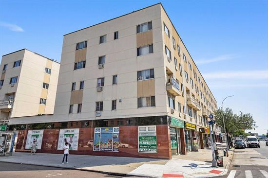 Five-Story Corner Mixed-Use Property On High Traffic Northern Blvd In Flushing. 7, 850 sq ft.Projected Yearly NOI: $228, 000, Projected CAP Rate: 5.3%. Two Retail Spaces, Plus Four Apartments Above. First Floor And Cellar: Retail Space. Second And Third Floors: Three Beds With Two Baths; Fourth And Fifth Floors: Duplex Units With Two Beds And Two Baths. Public transportations: Q13, Q15, Q15A, Q28 around the corner LIRR Within 5 mins. Conveniently access to all Supermarkets, Restaurants, Stores