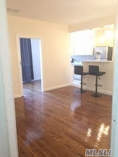 Extra Large sunny , bright Jr.1 bedroom Apt.in a Luxury Condo Building, located in the heart of Rego Park. Newly renovated eat-in kitchen, granite counter top, Stainless Steel appliances, windowed kitchen. Elevator, Laundry, just one block away from the M&R Subways stop. Immediate occupancy. NO PETS.