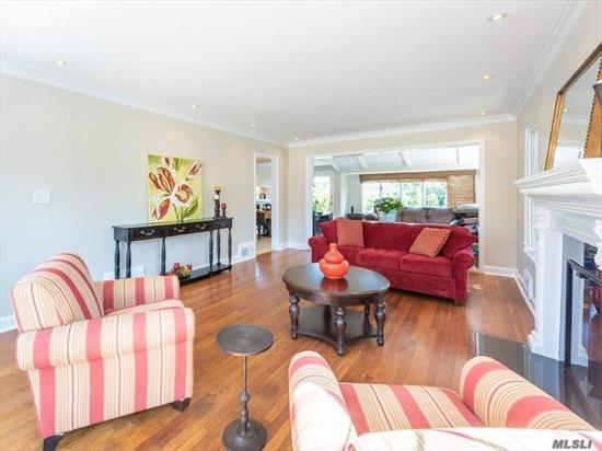 Excellent value on a picturesque, quiet Munsey Park street, this sunny 4-bedroom Munsey Park Colonial offers a comfortable floor plan and opportunity to customize. Flat, fenced property, spacious rooms, 2-car garage. Munsey Park Elementary.
