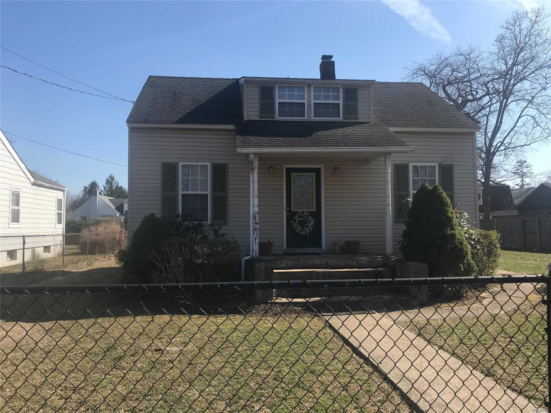Diamond in the rough! 2 bedroom, 2 bath home in need of TLC! Home built in 1927....large property with expansion possibility....detached garage, siding windows and electric has been upgraded. Home being sold as is...cash deal or 203K loan or conventional loan needed....home sold as is!