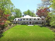 Totally Renovated in 2017. Incredible Elderfields Masterpiece. Every Detail Imaginable With A Sophisticated New York City Feel. Pool, Legal Guest Cottage And Recreation Court. 4, 949 Interior Sq Ft. + Lower Level 1, 367 Sq Ft, Living Space