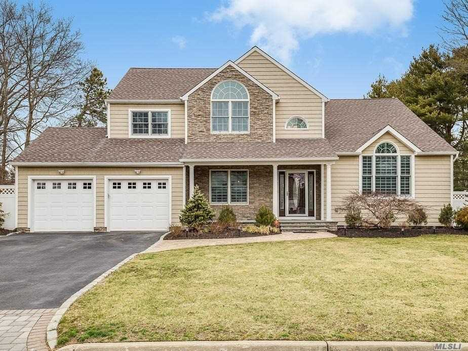 Wow like new. 4 Bdrm 2.5 bath colonial w/ basement. 2 story entry foyer, the master suite boasts an 11'10 x 4'3 walk in shower w/ two showerheads, Large kitchen w/ quartz/SS & soft close cabinets.Porcelin Tile on 1st floor w/ radiant heat, wood floors on 2nd floor. Other features include, Anderson windows, FP, LED lighting, golf simulator, inground pool, built in gas grill w/ granite bar, fire pit w/ pavers. Blue tooth, surround sound speakers. Too much to list, must see to appreciate.