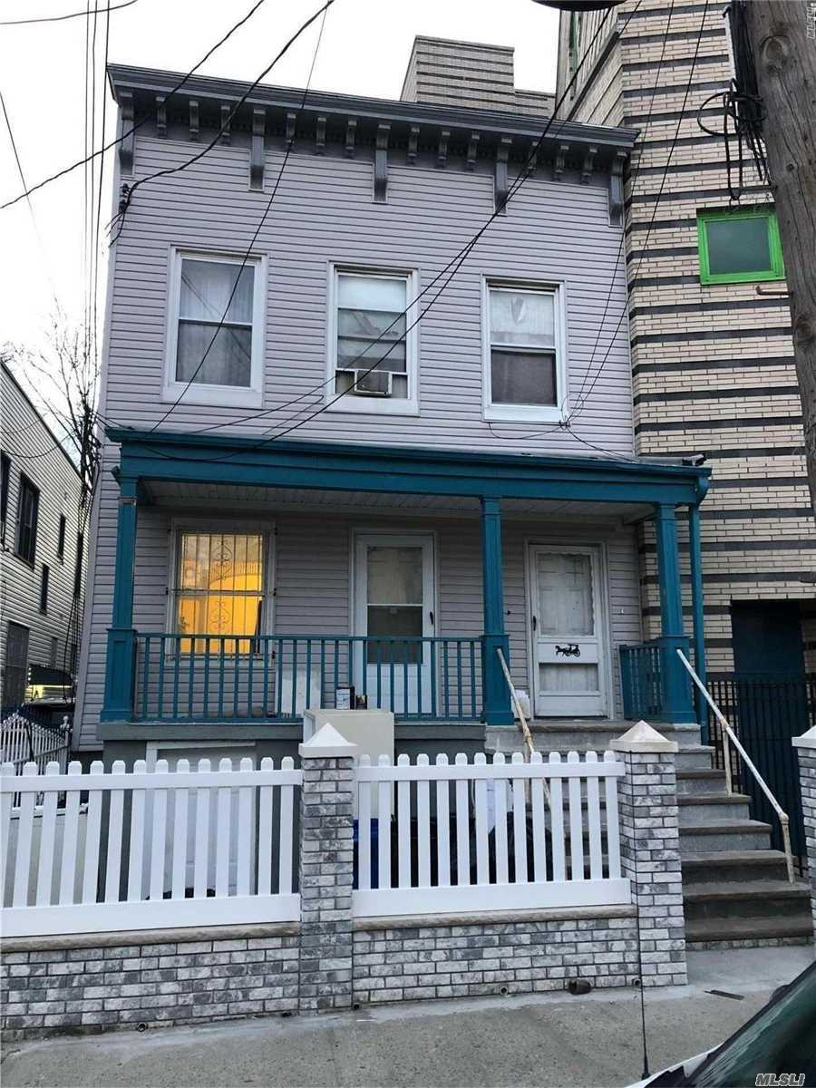 Great 2br/1ba W. LR/DR available for occupancy NOW! Newly renovated & painted. Located in beautiful Jamaica queens, this unit offers privacy, space and peace & quiet. Near all shopping and public transportation. Access to a backyard and front porch, all applicants must have excellent credit and verifiable income. Sorry, no pets. Broker's fee.