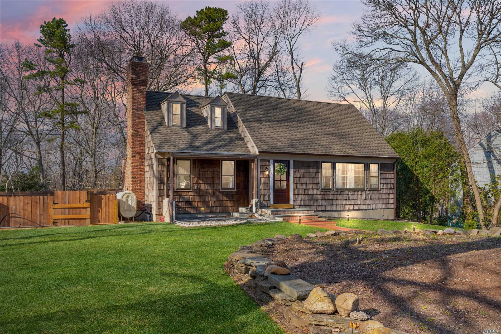 Step into this newly renovated 4 bedroom, 2 full bath expanded cape with a partially finished basement. This lovely turn key features gorgeous hardwood floors throughout and a fireplace within the open concept living room . Filled with charm and character including a farm house sink in updated Kitchen. A backyard made for entertaining with an in-ground pool. Peconic Bay Tax applies.