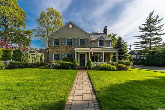 Location and Large Room Sizes. A True Classic Center Hall Colonial in Old Canterbury this Home has it all! Location and Size with a Private Landscaped Yard boasting an In Ground Swimming Pool Perfect for Entertaining! This 4 Bedroom, 2.5 Bath home has Generous Room Sizes, a Great Flow, Tons of Closets, Incredible Mouldings & Details throughout. Chef's Kitchen W /Center Island opening to Family Room, 2 Fireplaces, Custom Built Ins, Hardwood Floors, 2 Car Garage & Low Taxes!